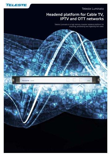 Teleste Luminato brochure