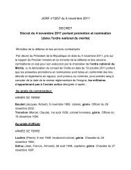 JORF n°0257 du 5 novembre 2011 DECRET Décret du ... - Fng.asso.fr