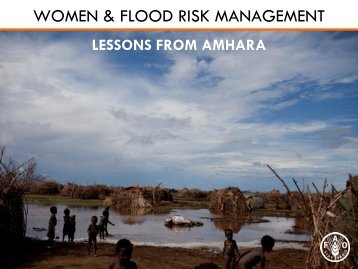 WOMEN & FLOOD RISK MANAGEMENT