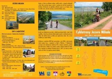Cyklotrasy Jezero Milada - Svazek obcí Jezero Milada