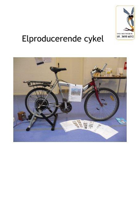 Elproducerende cykel - Energitjenesten