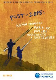 Post-2015: Acción Mundial para un Futuro Incluyente y Sostenible