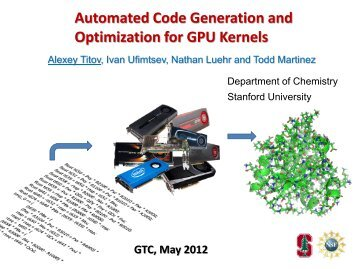 Automated Code Generation and Optimization for GPU Kernels