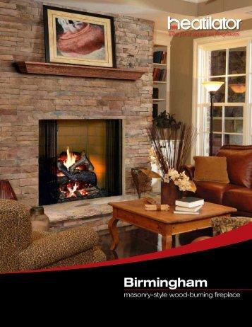 Birmingham Wood Burning Fireplace - Chimney Solutions