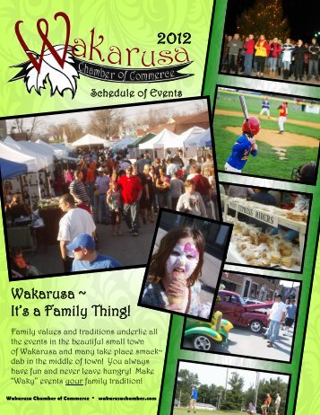 Wakarusa ~ It's a Family Thing! - Wakarusa Chamber of Commerce