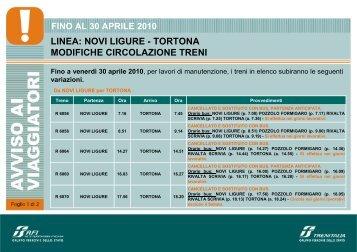 NOVI LIGURE - Trenitalia