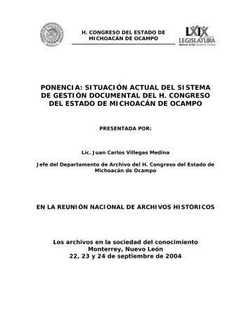 Sistema de automatización del acervo documental del poder ...