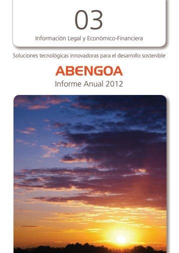 Cuentas anuales consolidadas - Abengoa