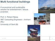 Multi functional buildings