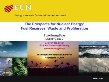 Nuclear Energy - Eindhoven University of Technology - Technische ...