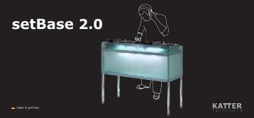 setBase 2.0 - KATTER_furniture, Jiri M.R. Katter