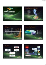 Brian Kennelly - EarthEnergy