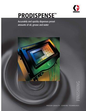 PRODISPENSE™ - Graco Inc.