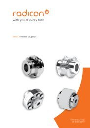 Series X Flexible Couplings - Benzlers