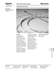 Thermocouple Extension Cables W ire and C able