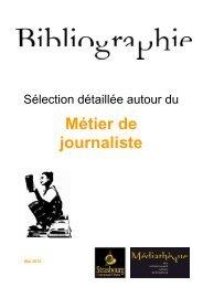 Métier de journaliste