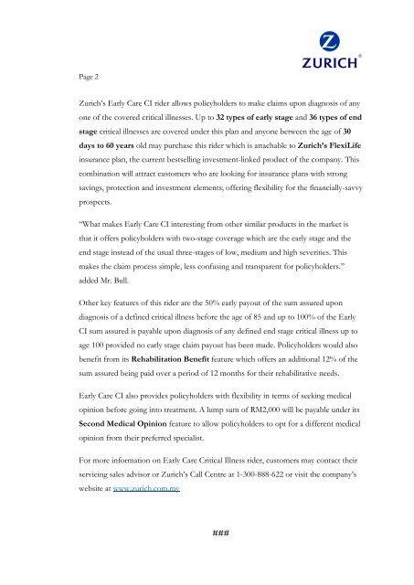 Page 2Zurich