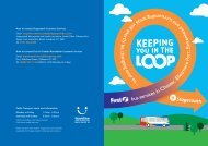 Keeping you in the Loop - Stagecoach