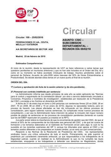 Circular_109.pdf - sac.csic.es
