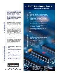 Datasheet - Edimax USA