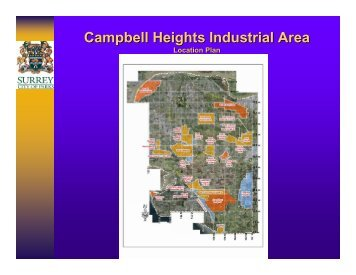 Campbell Heights Industrial Area: Meeting Watershed ... - Waterbucket
