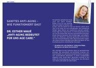 sanFtes anti-aging – Wie Funktioniert Das? Dr. esther ... - Die Ästheten