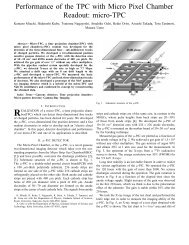 Performance of the TPC with Micro Pixel Chamber Readout: micro ...