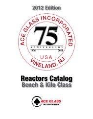2012 Reactor Catalogue - Lasalle Scientific Inc.