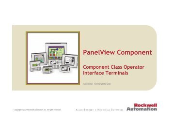 Rockwell Automation - PanelView Component