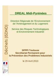20102904_SPPPI Déchets ISDND - DREAL Midi-Pyrénées