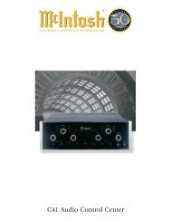 C41 Audio Control Center