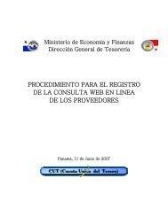 Manual de Registro Consulta Web - Ministerio de Economía y ...