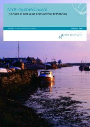 North Ayrshire Council: The Audit of Best Value and ... - Audit Scotland