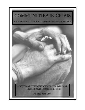 COMMUNITIES IN CRISIS - Public Interest Network