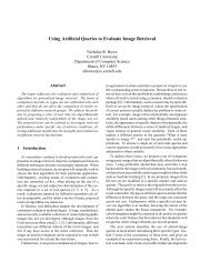Using Artificial Queries to Evaluate Image Retrieval - Smith College ...