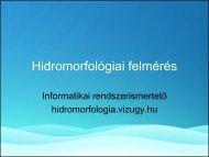 Hidromorfológiai információs rendszer