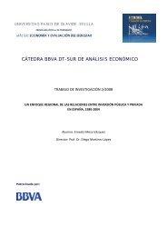 Un enfoque regional de las relaciones entre inversión pública y ...