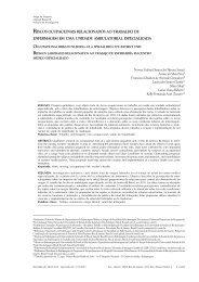 Riscos ocupacionais relacionados ao trabalho de enfermagem em ...