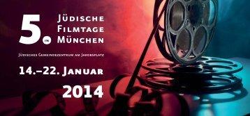 Programm der 5. Jüdischen Filmtage in München - Israelitische ...