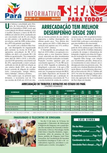 Informativo nº 143 - Sefa