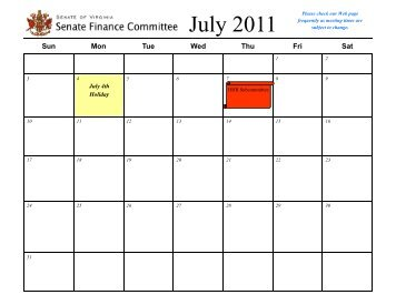 SFC Subcommittee_2011_July.pub - Virginia Senate Finance ...