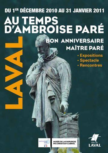 Téléchargez la plaquette - Laval