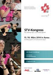Flyer STV-Kongress 2014 - Aarau Info