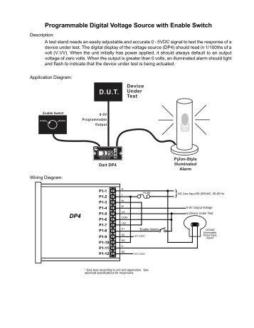 Programmable Digital Voltage Source DP4 - Dart Controls