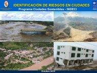 Programa Ciudades Sostenibles - INDECI - Ministerio de Vivienda ...