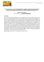 Adeisa CARVALHO (1) RESUMO - IV CONNEPI 2009