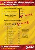 Folder Gemeinderatswahl 2012 - bei der SPÖ Trausdorf - Page 4