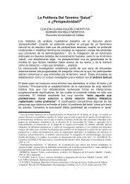 La Polifonía Del Término 'Salud' o ¿Perspectividad? - Hacia la ...