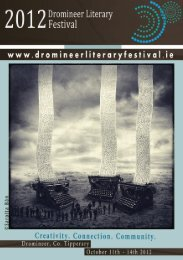 Dromineer Literary Festival Brochure - North Tipperary County Council