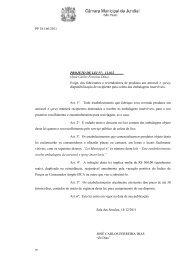 PP 18.166/2011 PROJETO DE LEI N°. 11.032 (José Carlos Ferreira ...